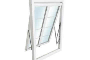 Trä och aluminiumbeklädda träfönster